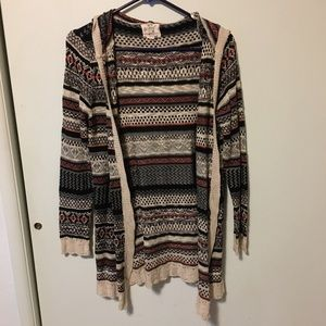 Hippie Rose Patterned Sweater